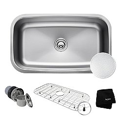 Outlast Microshield Single Bowl Undermount Kitchen Sink KBU14E