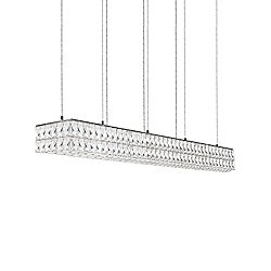 Solaris Double LED Linear Suspension Light