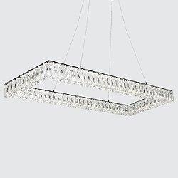 Solaris LED Rectangular Pendant Light