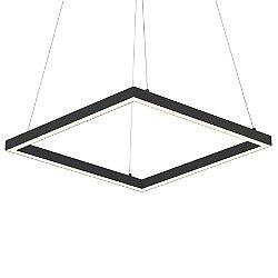 Piazza LED Square Pendant Light