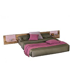 Fluttua Wildwood Bed, Queen