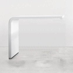Brunch Table Top, Bar Height (Small / 55-Inch/White Lacquered) - OPEN BOX RETURN