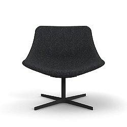 Auki Lounge Chair, Swivel Base