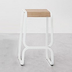Continuum Bar/Counter Stool, Wood