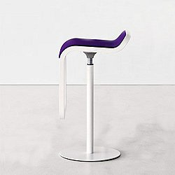 LEM Height Adjustable Counter Stool, Powder Coated