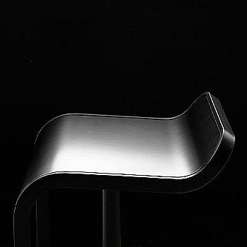 Side view of seat, Black Fenix Laminate