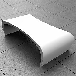 Cirrus Low Table - Corian