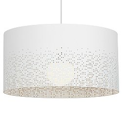 Crossblend Grande Drum Shade Pendant Light
