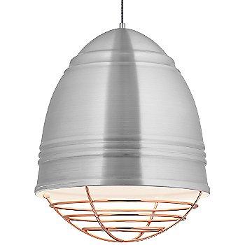 Brushed Aluminum w/ Copper finish