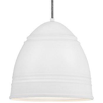Shown in Rubberized White White Interior white cord