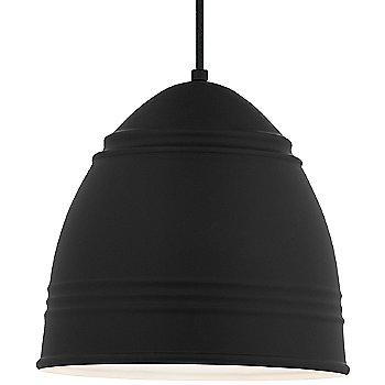 Shown in Rubberized Black White Interior black cord