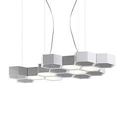 Honeycomb Suspension Light