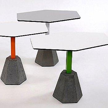 Round Top/White / Color: Orange frame /  Round Top/White  / Color: Green frame / Round Top/Grey / Color: White frame