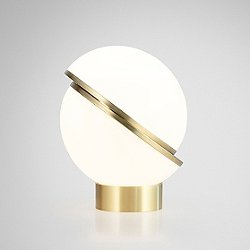Mini Crescent LED Table Lamp