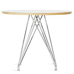 Marquette Round Radiant Base Table