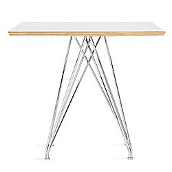 Marquette Square Radiant Base Table