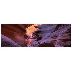 Antelope Cave #2 Panorma Canvas Art Print