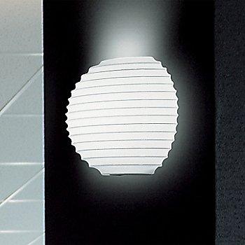 In use, illuminated