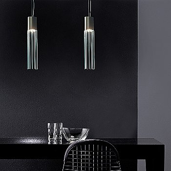 Reed Pendant Light / in use