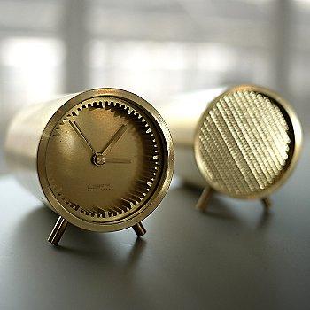 Shown in Brass