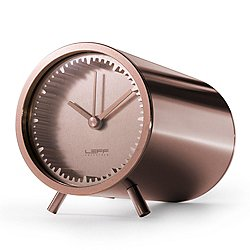 Tube Clock by LEFF Amsterdam (Copper) - OPEN BOX RETURN