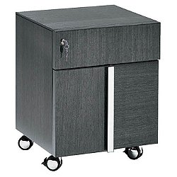 Monte Carlo 2 Drawer Office Pedestal w/ Wheels