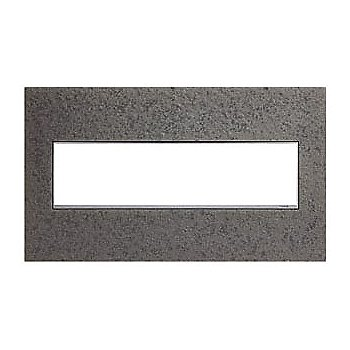 Shown in Natural Iron finish, 4 Gang
