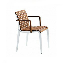 Teak Stacking Armchair