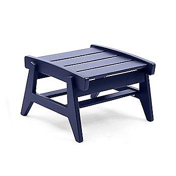 Rapson Ottoman - Navy Blue