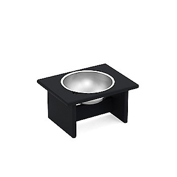 Minimalist Pet Bowl - Small, Charcoal Grey