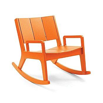 No. 9 Rocker - Sunset Orange