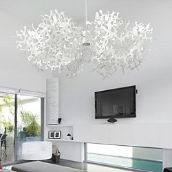 Supercoral 8L Chandelier