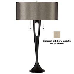 Soiree Table Lamp (Croissant Silk Glow) - OPEN BOX RETURN