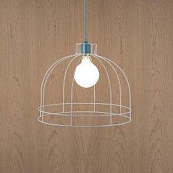 Color Swag Dome Cage Pendant Light