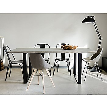 Pictured with the Alps Dining Table and the Hauteville Chair (sold separately)