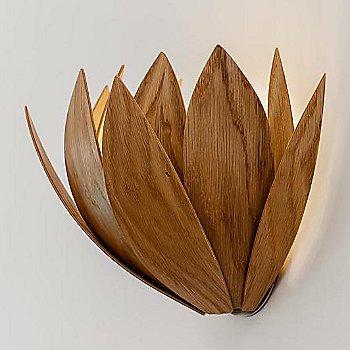 Oak finish