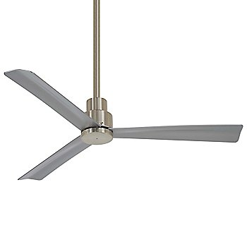 44 Inch / Brushed Nickel with Silver Fan Body and Blade Finish