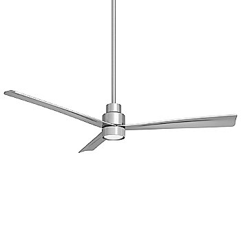 52 Inch / Silver Fan Body and Blade Finish