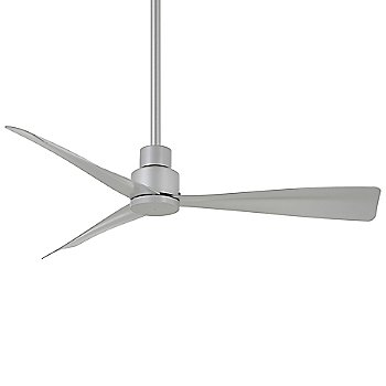 44 Inch / Silver Fan Body and Blade Finish