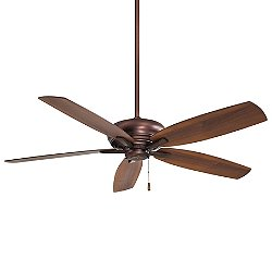 Kola XL Ceiling Fan (Brushed Bronze/Maple/Walnut) - OPEN BOX