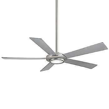 Shown in Brushed Nickel with Silver Blades finish