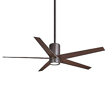 Shown in Oil Rubbed Bronze with Medium Maple Blades finish