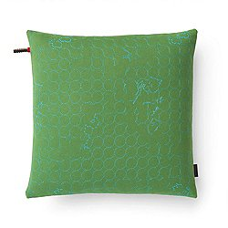 Layers Vineyard Small Pillow, Jade/Turquoise - OPEN BOX RETURN