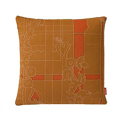 Layers Park Double Pillow, Sienna/Ginger/Rose