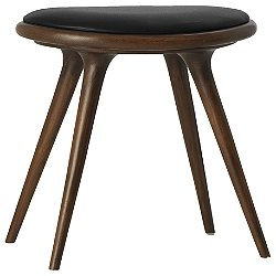 Premium Space Stool, Low (Dark Stained Oak) - OPEN BOX