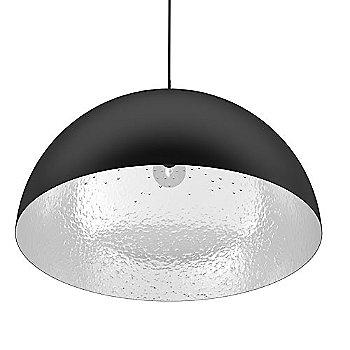 Black with Aluminum Interior finish