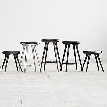 Pictured with the Space Stool High and the Aluminum Space Stool (sold separately)