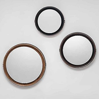 All mirror sizes and finishes shown together