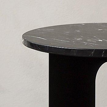Black Marquina Marble finish