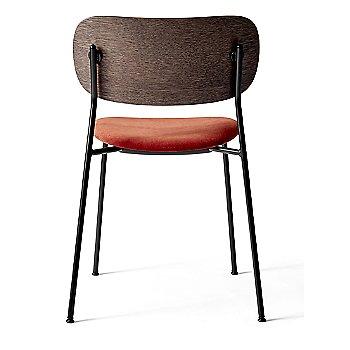 City Velvet: Red Seat Material / Dark Stained Oak Frame finish